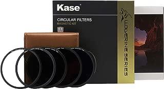 Kase Wolverine 77mm Pro Kit Magnetic Shockproof Tempered Optical Glass Filter Includes Magnetic CPL ND8 ND64 ND1000 & Case 77