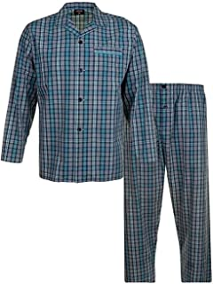 Espionage Men's Traditional Check Pyjama Set