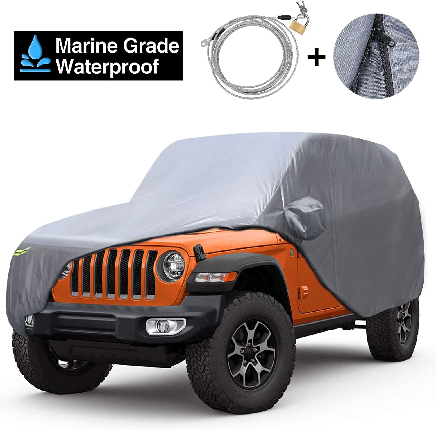 KAKIT 210D Oxford Car Manufacturer OFFicial shop Cover Year-end annual account Compatible Wrangler Jeep with