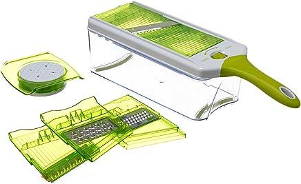 Conjunto De 4 Raladores Ajustáveis Full Star, Etna Tf1006, Verde/branco Etna Verde/branco