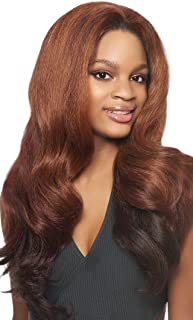 Outre Quick Weave Synthetic Half Wig Batik Bundle Hair DOMINICAN BLOWOUT RELAXED (1B)
