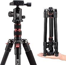 BONFOTO B690A - Trípode para cámara de Fotos (aleación de Aluminio, con Cabezal de Bola de 360 Grados, Placa de liberación rápida de 1/4