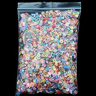 Joyeee 10000 Piezas Chips de Fimo 3D Abalorios Variados