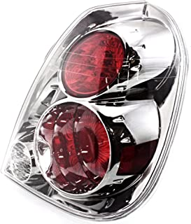 Fits 05-06 NISSAN ALTIMA RIGHT PASSENGER TAIL LAMP ASSEMBLY W/DARK CHROME TRIM