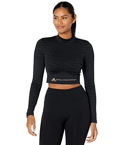 adidas by Stella McCartney Truepurpose Seamless Yoga Crop Top GU1636