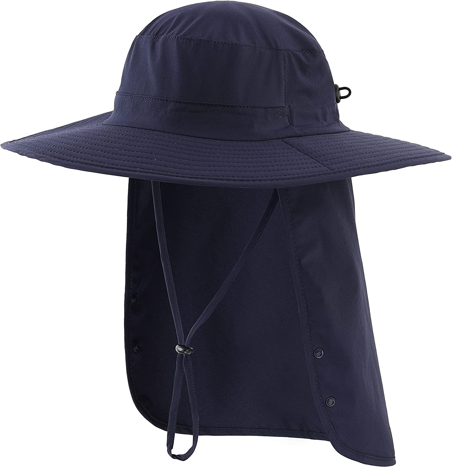Connectyle Mens UPF 50+ Sun Protection with Flap Hat Neck Safari Latest item Ranking TOP11