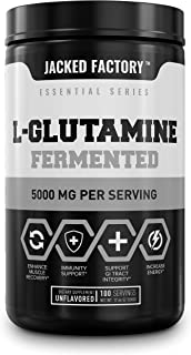 L-Glutamine Fermented Powder 5g - Premium Glutamine Supplement for Enhanced Muscle Recovery, Immunity Support, Digestive H...