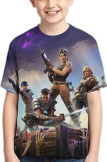 Youth T-Shirts 3D Print Boys and Girls Fashion T Shirts Short Sleeve