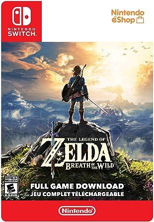 The Legend of Zelda: Breath of the Wild Standard - Switch [Digital Code]