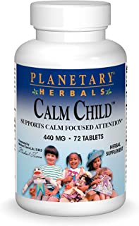 Planetary Herbals Calm Child for Active Children 72 tabs
