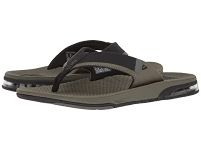Reef Fanning Low (Olive) Men
