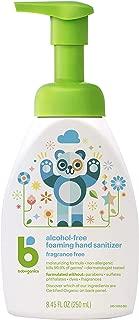 Babyganics Alcohol-Free Foaming Hand Sanitizer, Fragrance Free, 8.45oz Pump Bottle