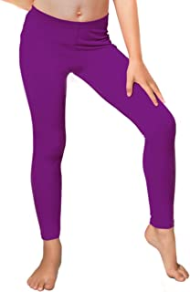 himipopo Kid Girls Leggings Star Stretchy Pants 1pcs Purple