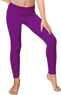 kids purple leggings