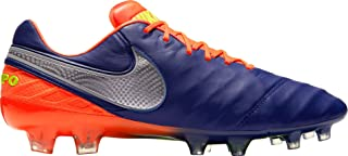 Men's Tiempo Legend VI FG Cleats - (Deep Royal Blue/Chrome/Total Crimson)