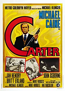 Posterazzi Get Carter Movie Masterprint Poster Print (24 x 36)