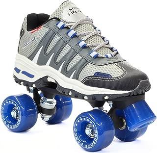 Sonic Cruiser Outdoor Skates - Sonic Cruiser Outdoor Quad Roller Skate,Gray,Mens 5 / Ladies 6
