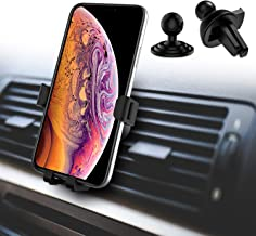 Air Vent Phone Holder, BeeFly Gravity Car Phone Mount Dashboard Cell Phone Holder for Car 360° Rotate Universal Automatic Compatible for iPhone 11 Pro Xs Max X XR 8 7 6 Samsung Note 10 S10