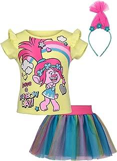 toddler girl trolls dress