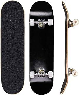 Sumeber, skateboard per evoluzioni da adulti, per principianti, regalo di compleanno, per adolescenti, ragazze, ragazzi e ...