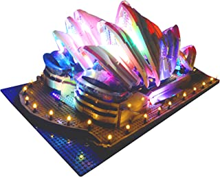 Brick Loot Deluxe Version Lighting Kit for Your Lego Set Sydney Opera House 10234 Lego Set NOT Included