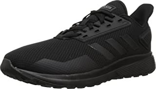 adidas Men's Duramo 9 Running Shoe, Black/Black/Black, 12 M US