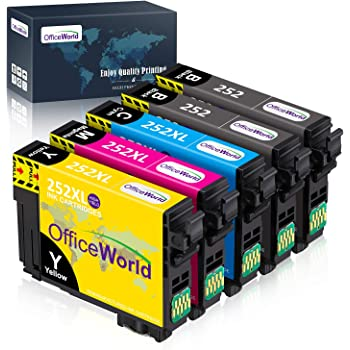 WF-7620 WF-3640 WF-7110 UniPrint Chip Resetter 252 T252 T254 Ink Cartridges Workforce WF-3620 WF-7610