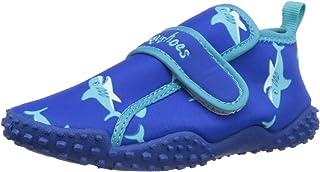 Playshoes Souliers de Sport Aquatiques avec Protection UV Requin, Chaussures pour Piscine et Plage Mixte Enfant