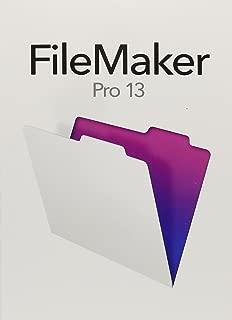 FileMakerPro 13 - English