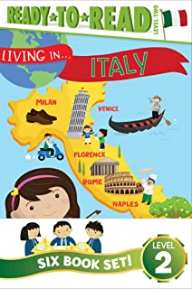 Living In... Ready-To-Read Value Pack: Living in . . . Italy; Living in . . . Brazil; Living in . . . Mexico; Living in . ...