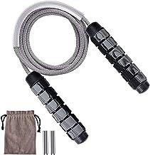 Queta Speed Rope Springtouw, met kogellagers voor kinderen en volwassenen, lengte instelbaar, anti-slip handgrepen, verste...