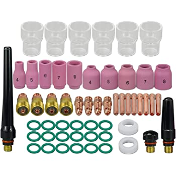 "10 pcs #5 13N09 Alumina Nozzle Cups for WP-9 WP-20 WP-25  8.0mm 5//16/"""