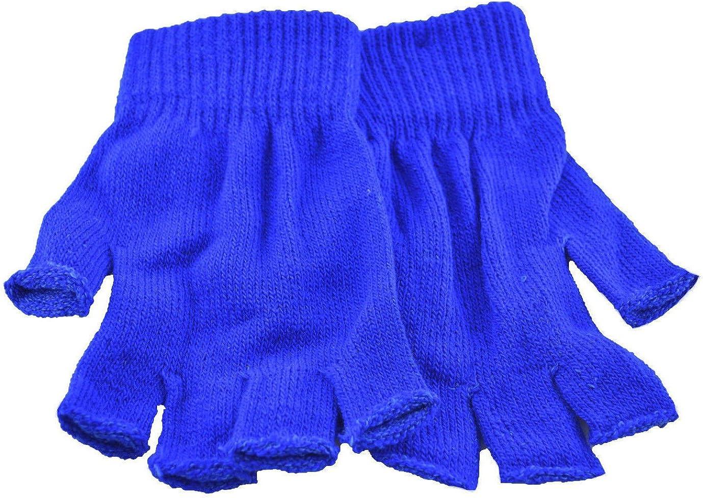 Nayt Fingerless Glove Blue Boston Mall Royal Industry No. 1