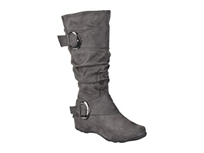 Journee Collection Jester-01 Boot Extra Wide Calf (Grey) Women