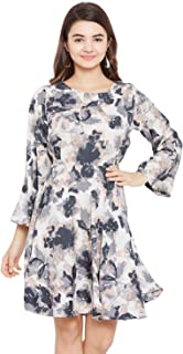 AASK Crepe a-line Dress