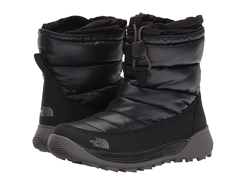 The North Face Kids ThermoBall Freestyle (Toddler/Little Kid/Big Kid) (TNF Black/Dark Gull Grey) Girls Shoes