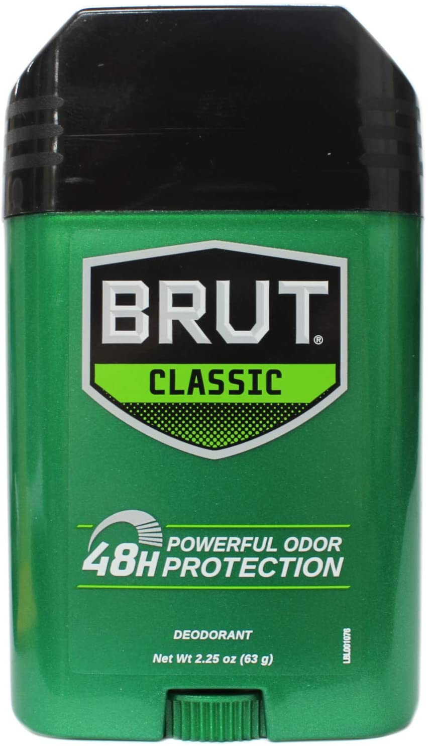 Brut Deodorant Oval Solid 2.25 Oz. Ranking TOP3 - with Tri Max 84% OFF Protection Hour 24