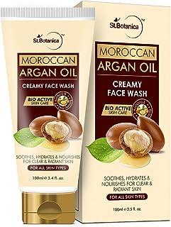 StBotanica Moroccan Argan Oil Creamy Face Wash, 100mL