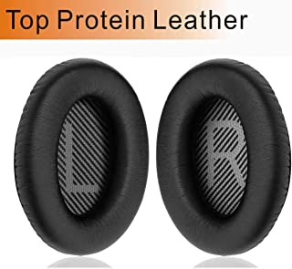 Bose Headphones Ear Pads Replacement Noise Cancelling Compatible for Bose QC35,QC25,QC15 Ear Cushion QC2,AE2, AE2I, AE2W SoundTrue/SoundLink Around-Ear,Black