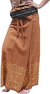 Brand Striped Cotton Japanese Samurai Belt Wrap Pants