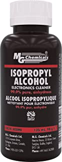 MG Chemicals 99.9% Isopropyl Alcohol Liquid Cleaner, 125 ml Bottle, Clear