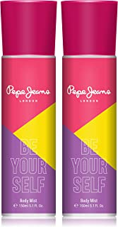 Pepe Jeans London Be Your Self Women Body Mist 150ml (Pack Of 2)