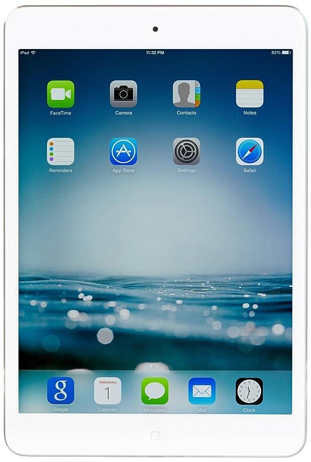 Apple iPad Mini 2 with Retina Display (32GB,WiFi + Cellular, Silver) (Renewed)