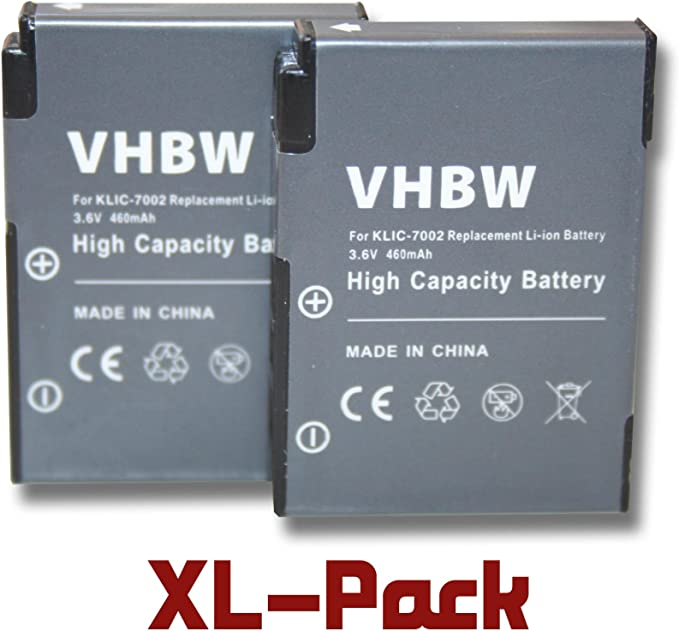 Vhbw Li Ion Akku 460mah Für Kamera Video Camcorder Kamera