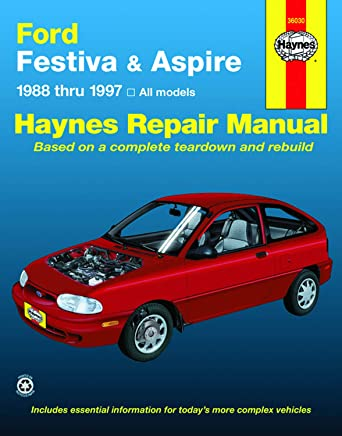 ford festiva and aspire, 1988-1997 (haynes manuals)