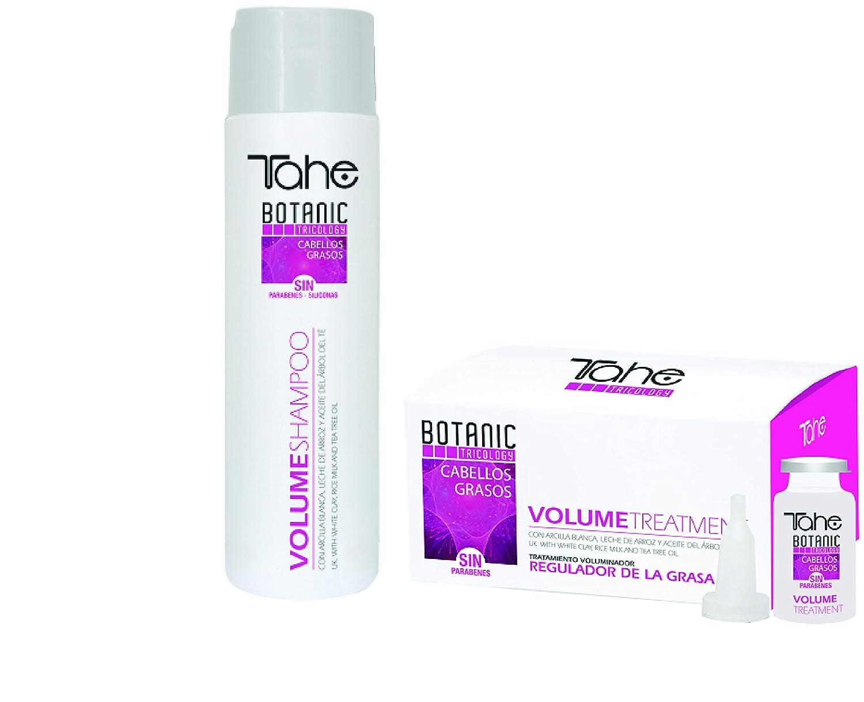 Tahe Botanic Volume Attention brand Shampoo 300ml + 5x10ml Treatment SET Purchase Oil for
