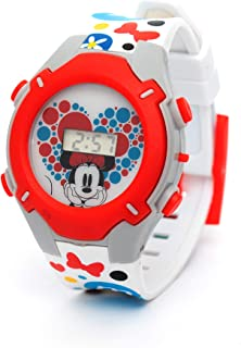 Disney Minnie Girls Digital Dial with Rotating Running light Wristwatch - SA7177 Minnie