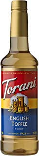 Torani Syrup, English Toffee, 25.4 Ounces