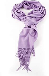 AMINA Einfarbiger Damen-Schal mit Kaschmir-Feeling - Pashmina, Stola, Halstuch, Poncho - Super weich & hochwertig - Tolles Geschenk - 200 x 70 cm, 11 Farben verfügbar