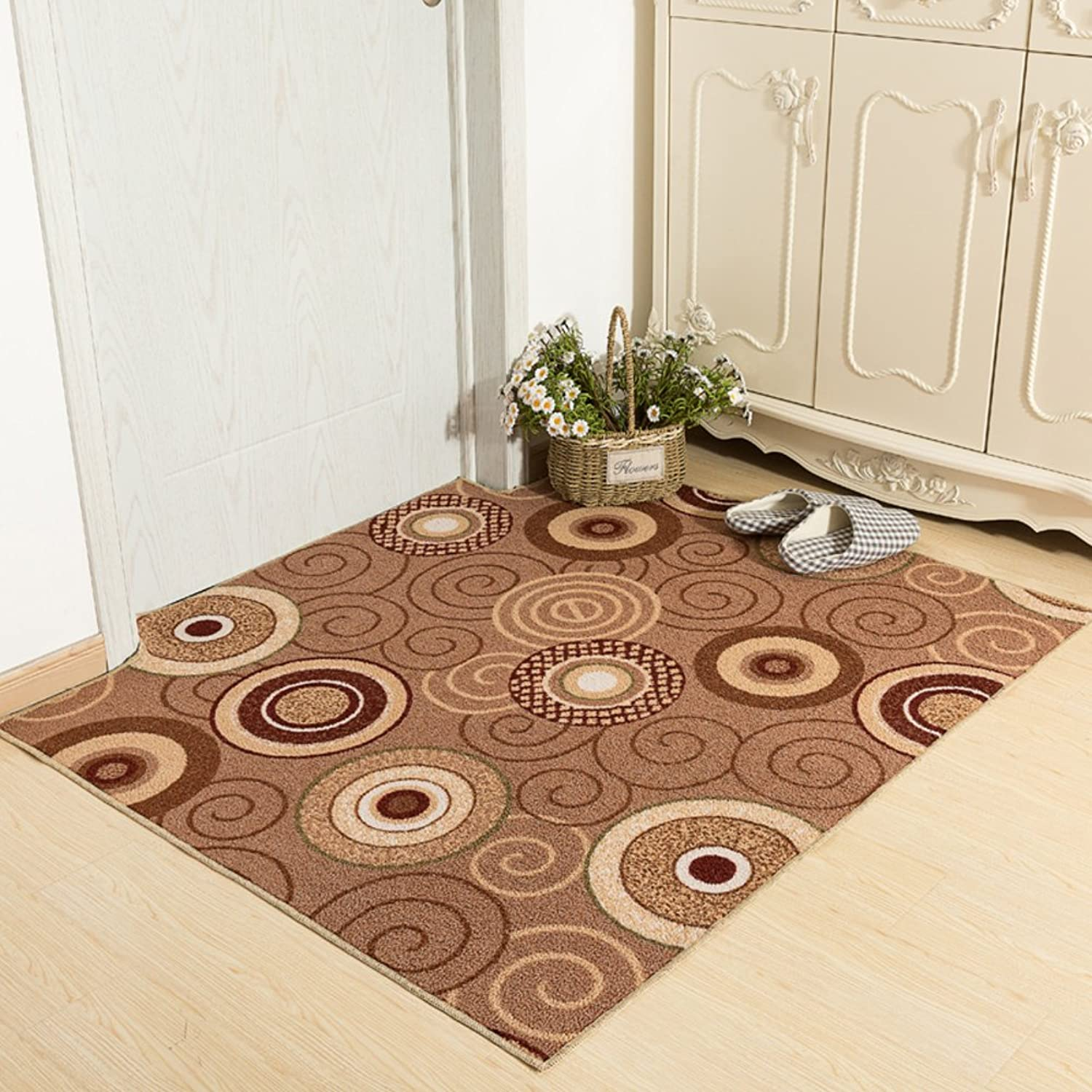 Indoor Mats Door,Door Mats Bedroom Mats Restroom,Bathroom Non-Slip Mats Car Mats-Bathroom-A 120x140cm(47x55inch)